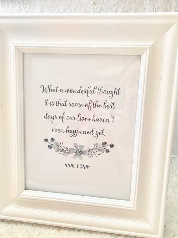 Anne Frank/inspirational