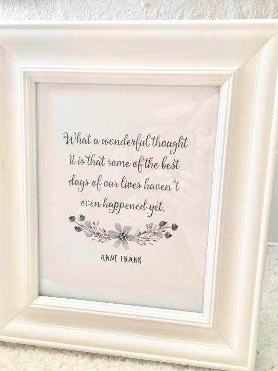 Anne Frank/inspirational