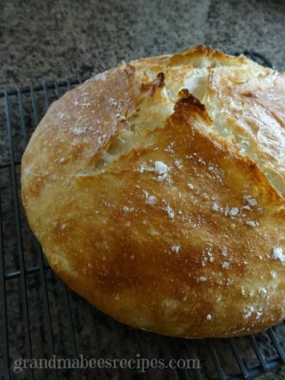 Artisan bread 1/recipe
