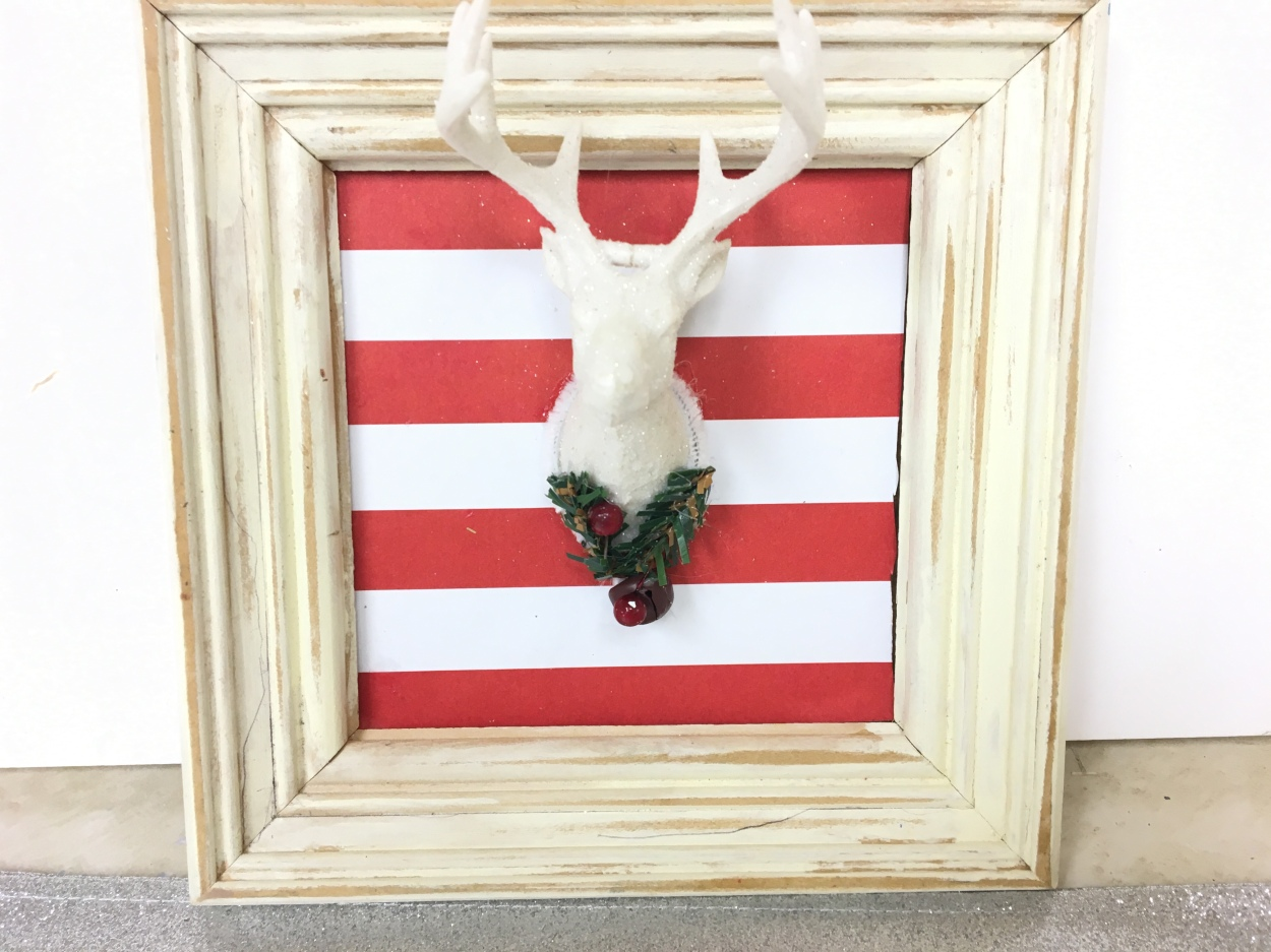 DIY/Dollar Tree craft/reindeer pic