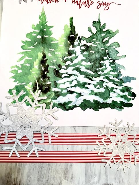bread board art/DIY/Christmas
