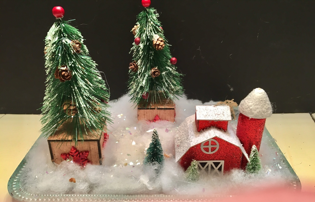 Christmas scene/DIY