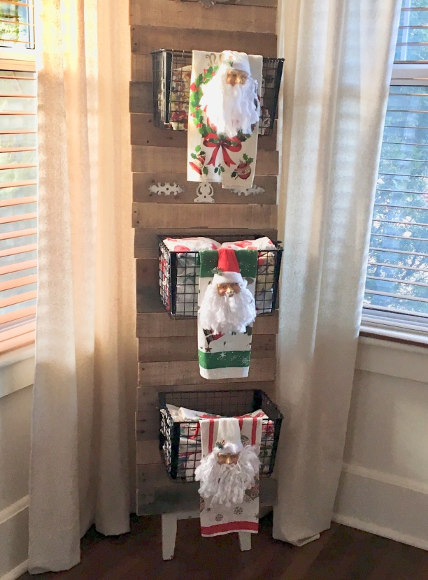 DIY decorating Christmas