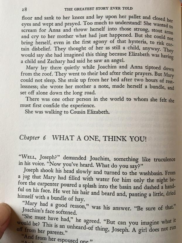 Greatest story ever told/Christmas/faith