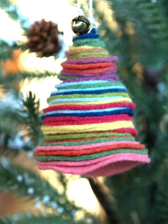 DIY/felted Christmas tree