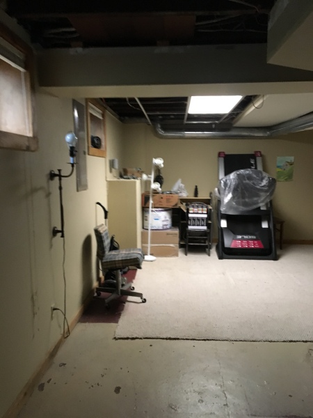 basement remodel/motivational/decorating