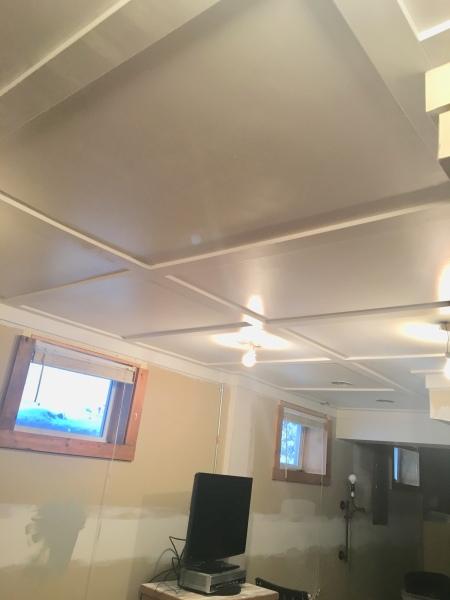 basement remodel/motivational/decorating