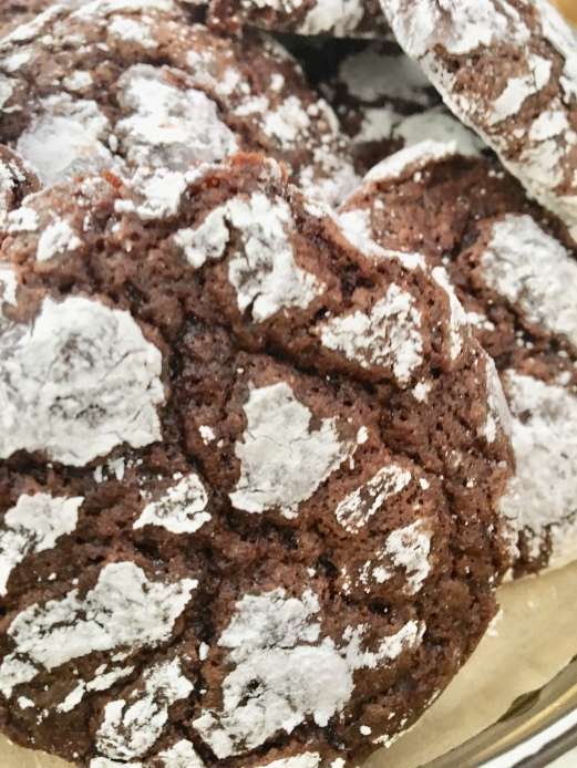 Chocolate crinkle cookies/recipe
